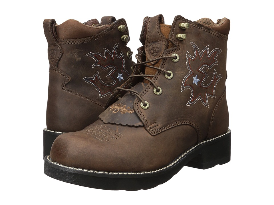 Ariat Probaby Lacer (Driftwood Brown) Cowboy Boots
