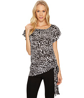 MICHAEL Michael Kors - Big Cat Side Tie Top