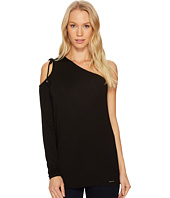 MICHAEL Michael Kors - Ruched One Shoulder Top