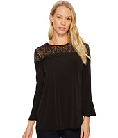 MICHAEL Michael Kors - 3/4 Sleeve Lace Yoke Top