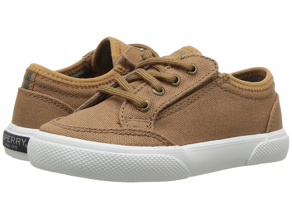 Sperry Kids Deckfin JR. (Toddler/Little Kid) (Caramel) Boys Shoes
