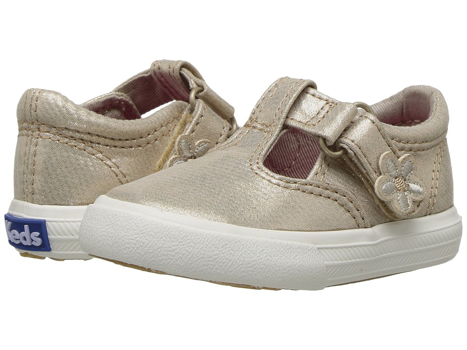 Keds Kids Daphne (Infant/Toddler) (Gold) Girls Shoes
