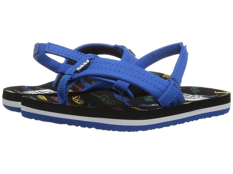 Reef Kids Ahi (Infant/Toddler/Little Kid/Big Kid) (Blue Sunglasses) Boys Shoes