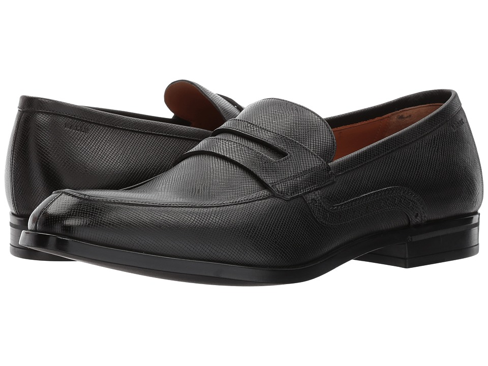 Bally Lauto Loafer (Black) Men's Shoes