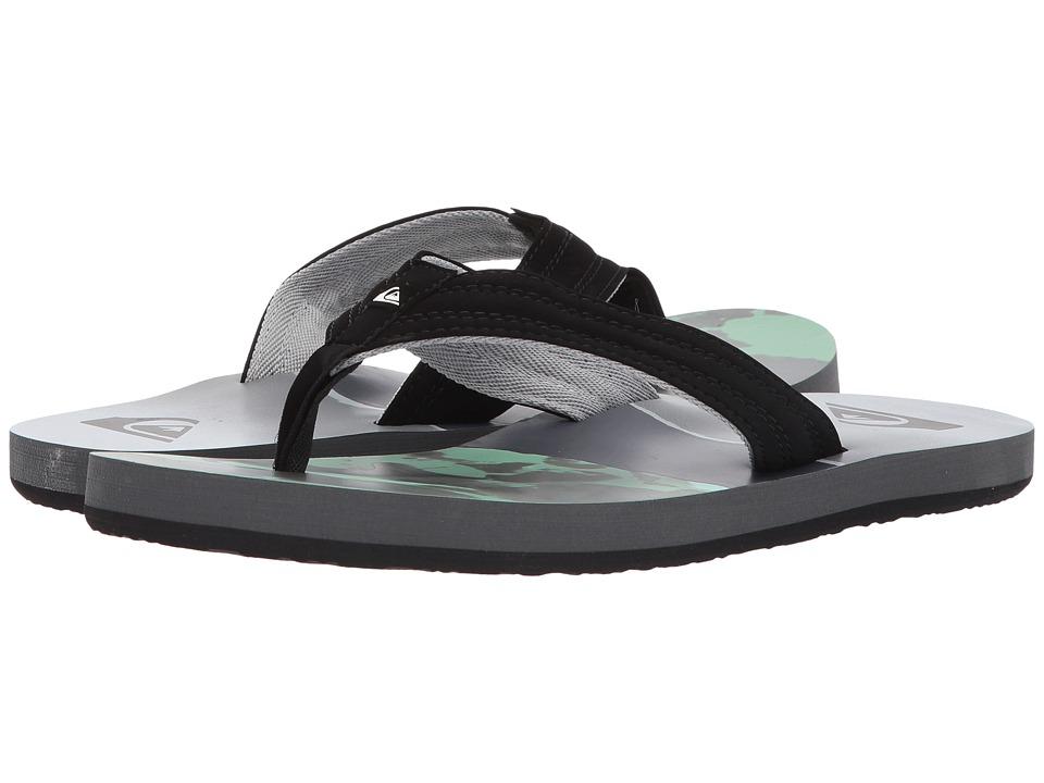 Quiksilver - Basis (Black/Green/Grey) Men's Sandals