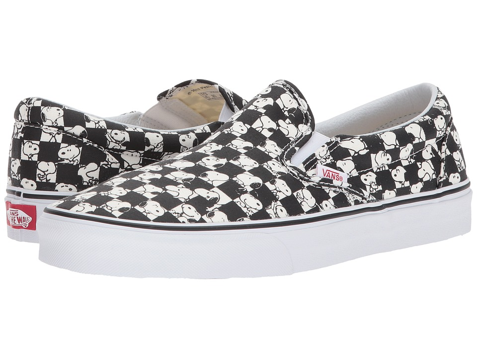 Vans Classic Slip-On X Peanuts Collaboration ((Peanuts) Snoopy/Checkerboard) Skate Shoes
