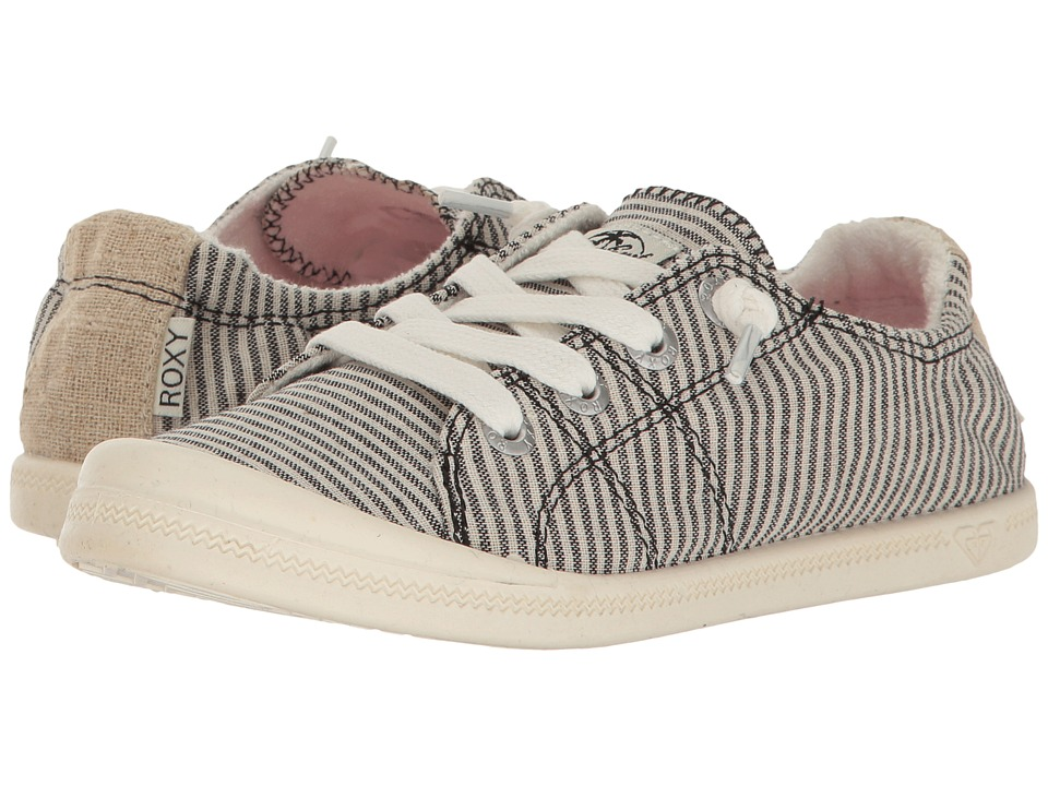 Roxy Kids Bayshore (Little Kid/Big Kid) (Black Stripe) Girls Shoes