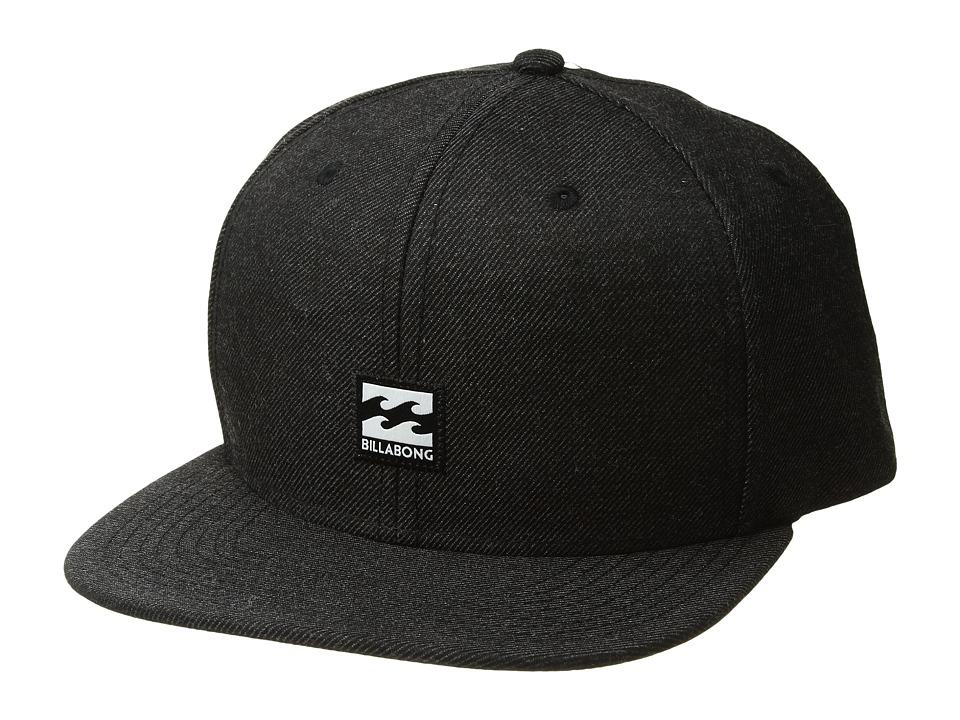 Billabong - Primary Snapback Hat (Black Heather 2) Caps