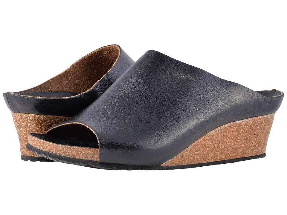 Birkenstock Debby (Metallic Black Leather) Women