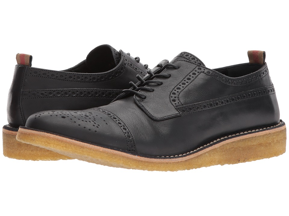 Burberrys Cheverton Oxford (Black) Men's Lace up casual S...