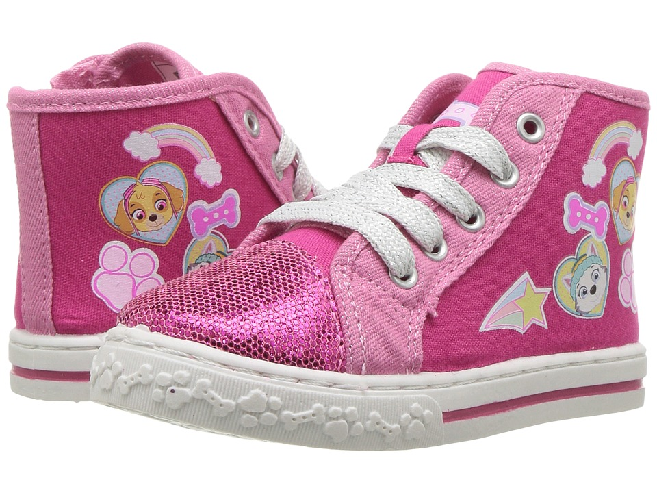 Josmo Kids Paw Patrol Hi Top (Toddler/Little Kid) (Pink) Girl's Shoes