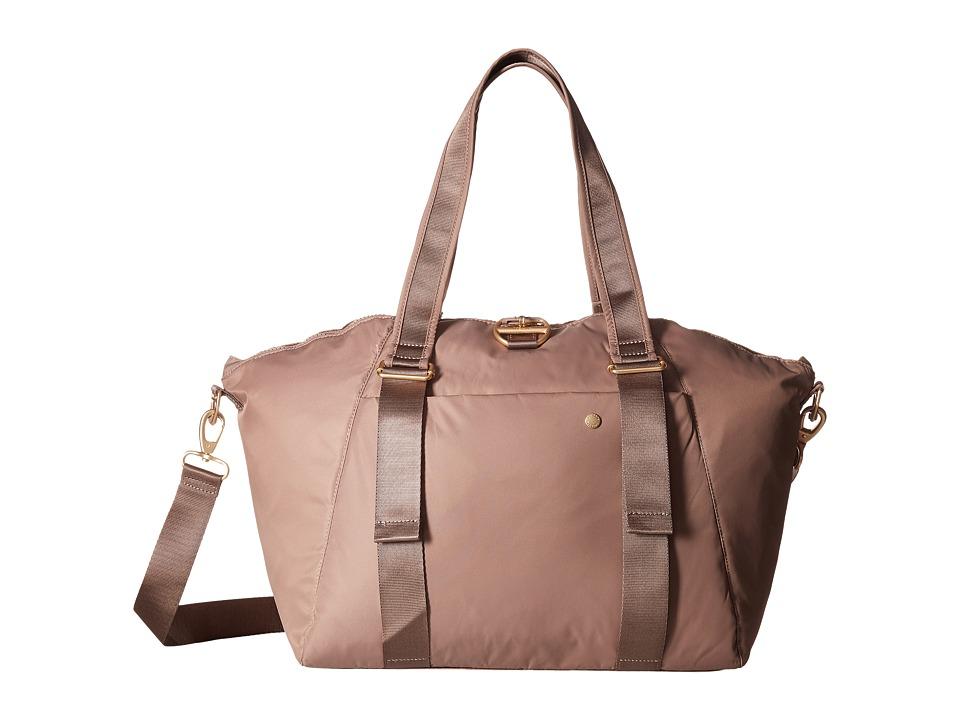 Pacsafe - Citysafe CX Anti-Theft Oversized Tote (Blush Tan) Tote Handbags