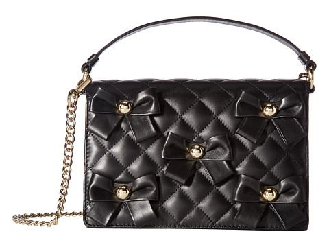Boutique Moschino Quilted Bow Bag - Black
