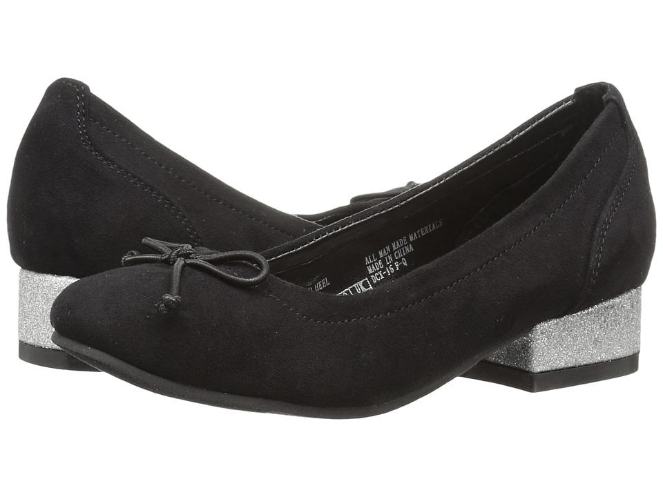 Kenneth Cole Reaction Kids - Tap Heel (Little Kid/Big Kid) (Black) Girls Shoes
