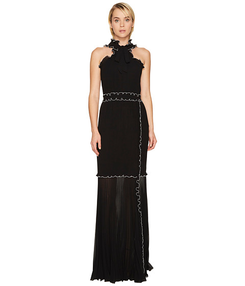 Boutique Moschino Georgette Long Dress