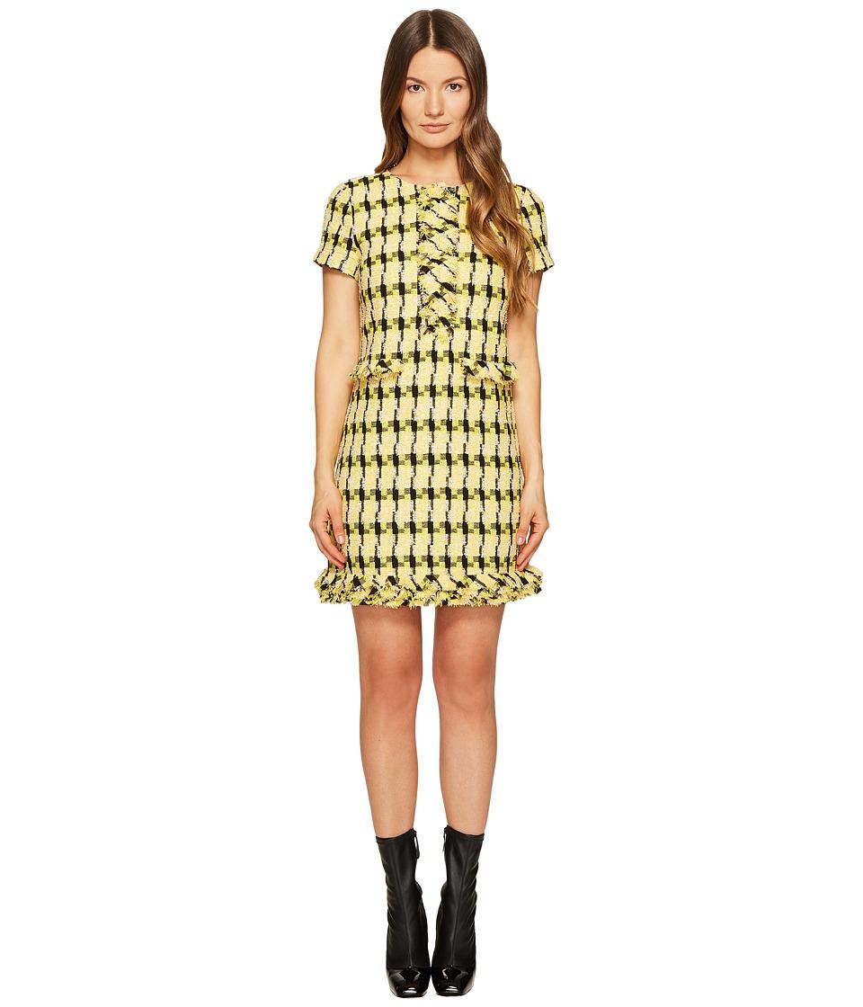 Boutique Moschino Tweed Dress (Yellow) Women