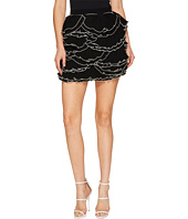 Boutique Moschino - Georgette Ruffle Skirt