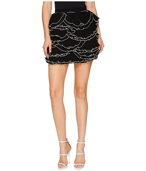 Boutique Moschino Georgette Ruffle Skirt