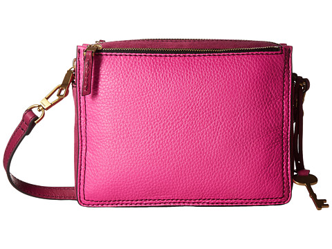 Fossil Campbell Crossbody - Hot Pink