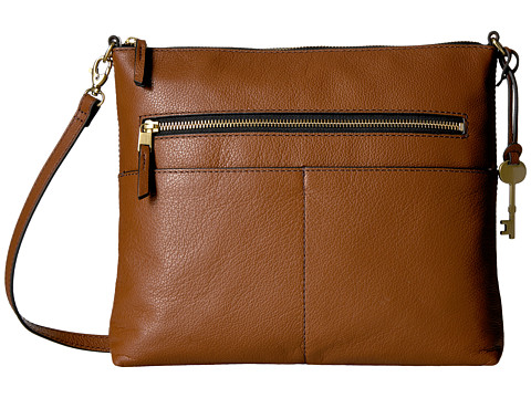 Fossil Fiona Large Crossbody - Brown