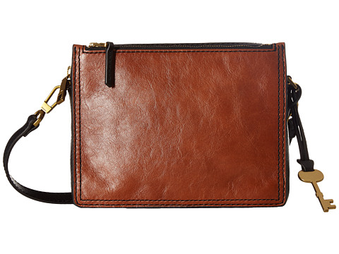 Fossil Campbell Crossbody - Brown
