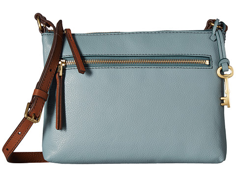 Fossil Fiona Small Crossbody - Steel Blue