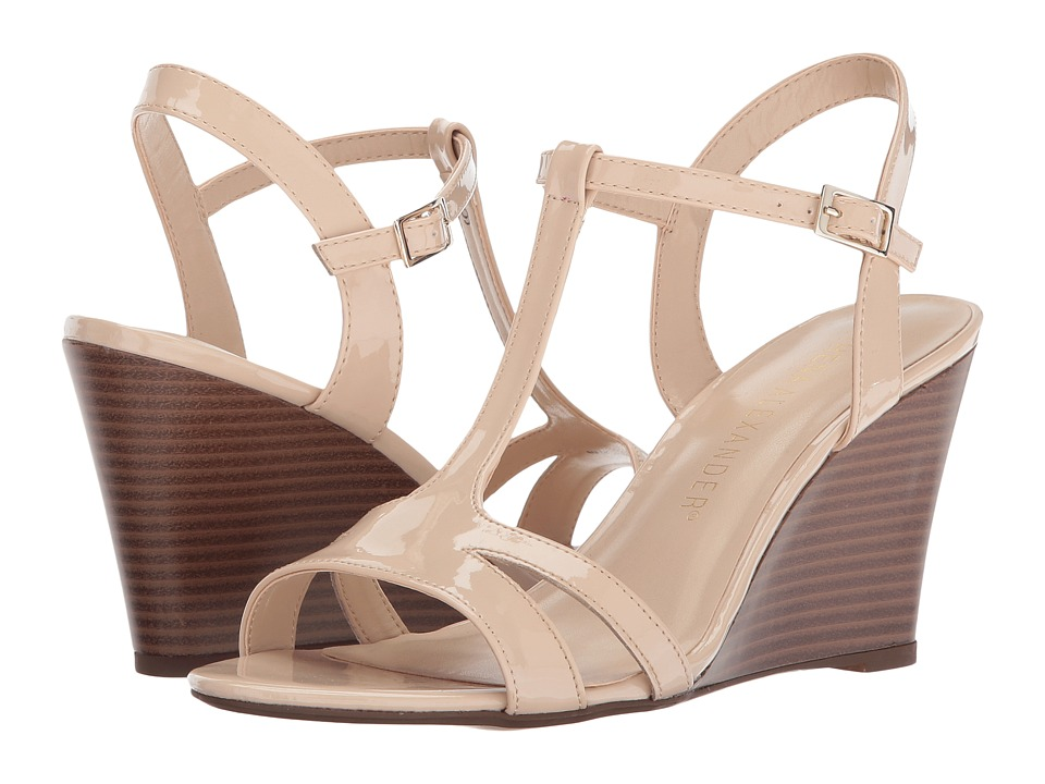 Athena Alexander Andres (Nude Synthetic Leather) Women