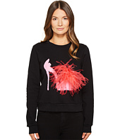 Boutique Moschino - Maribou Shoe Sweatshirt