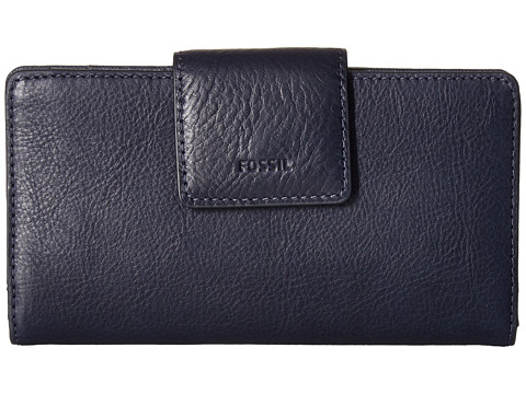 Fossil Emma Tab Clutch RFID - Midnight Navy