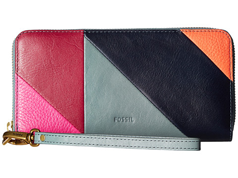 Fossil Emma Large Zip Clutch RFID - Multi 1