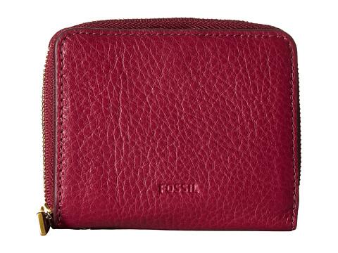 Fossil Emma Mini Multi Wallet RFID - Raspberry Wine
