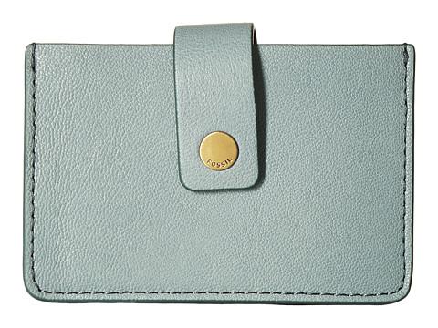 Fossil Mini Tab Wallet - Steel Blue