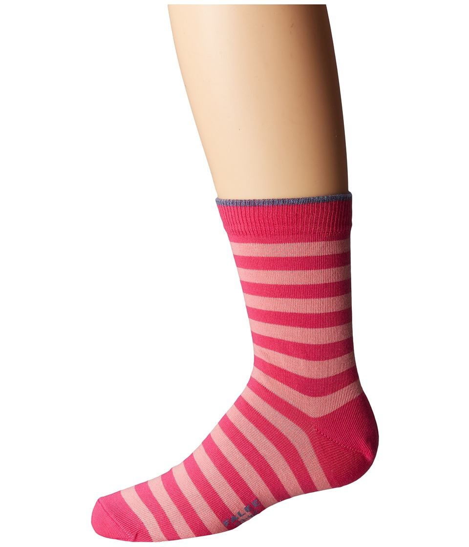 Falke - Double Stripe Socks (Toddler/Little Kid/Big Kid) (Gloss) Crew Cut Socks Shoes