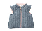 Mud Pie Chambray Vest (Infant/Toddler)