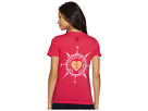 Life is Good Compass Heart Crusher Tee