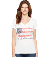 U.S. POLO ASSN. - V-Neck Flag Tee
