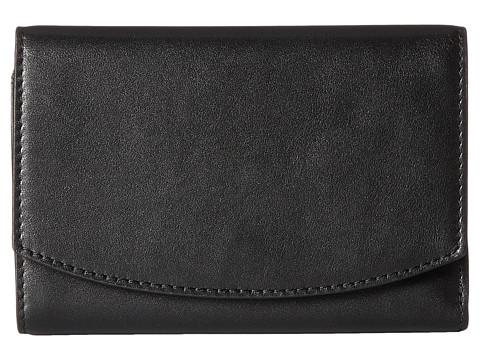 Skagen Compact Flap Wallet - Black 1