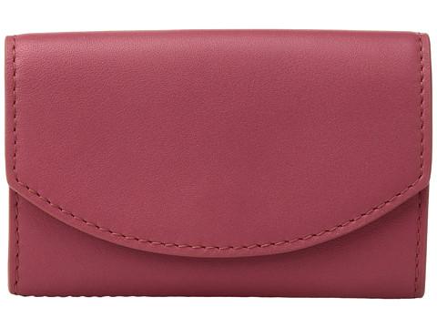 Skagen Flap Card Case - Berry