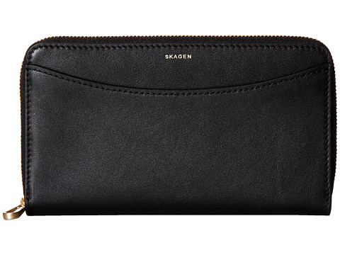 Skagen Compact Zip Wallet - Black 2