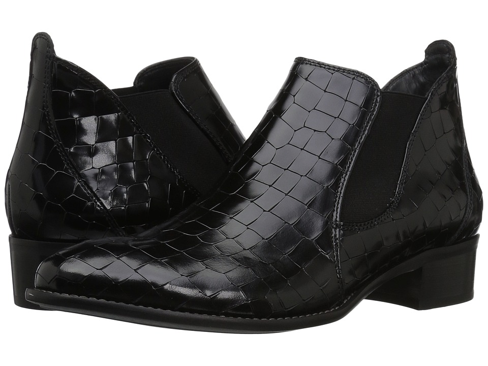 Paul Green Oneal (Black Croco) Women