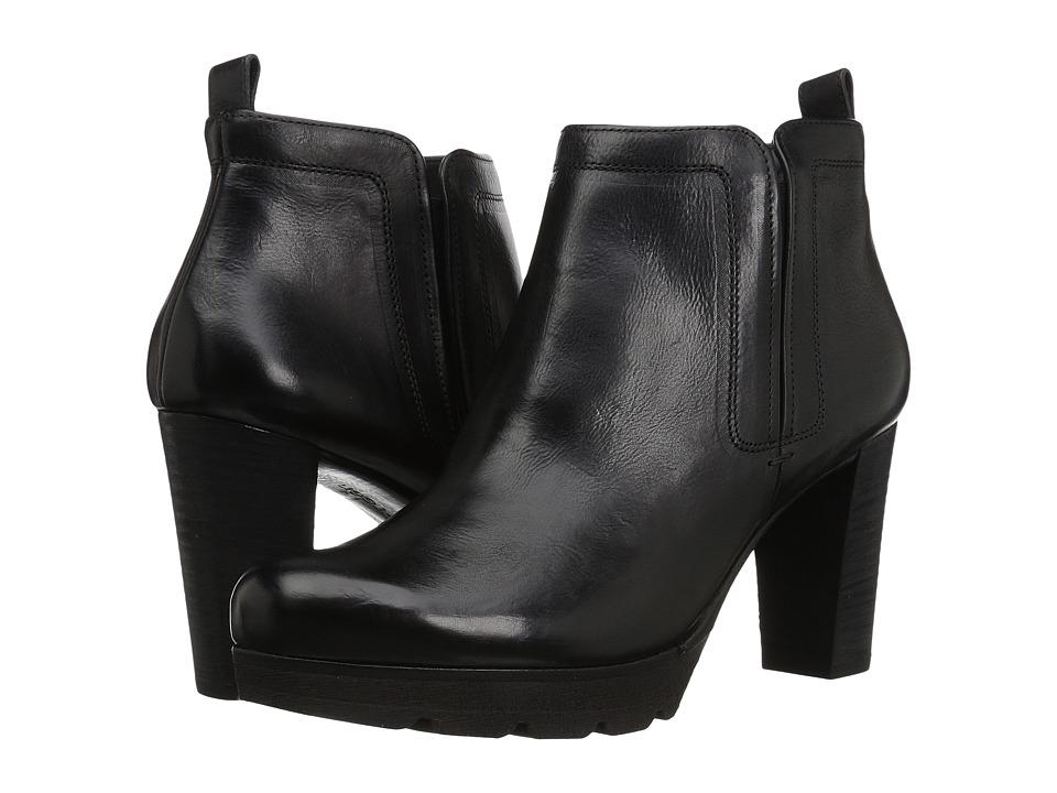 Paul Green Olivia Boot (Black Leather) Women