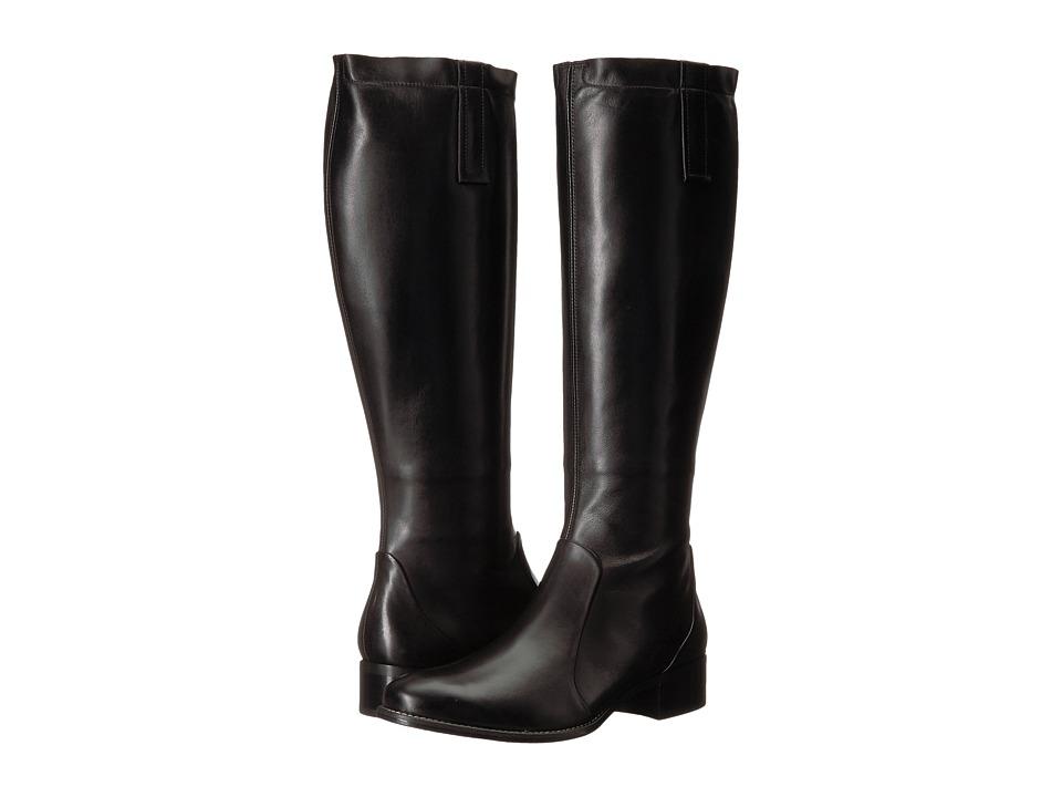 Paul Green Orsen Boot (Black Leather) Women