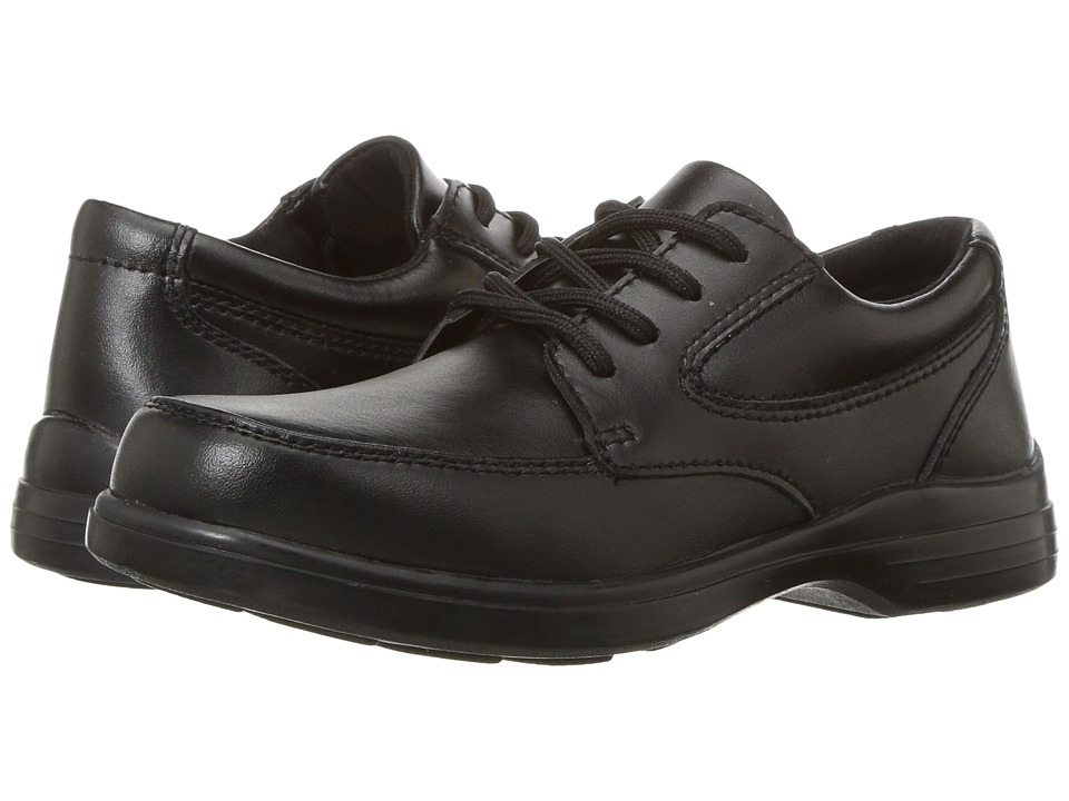 Hush Puppies Kids TY (Little Kid/Big Kid) (Black Leather) Boy's Shoes