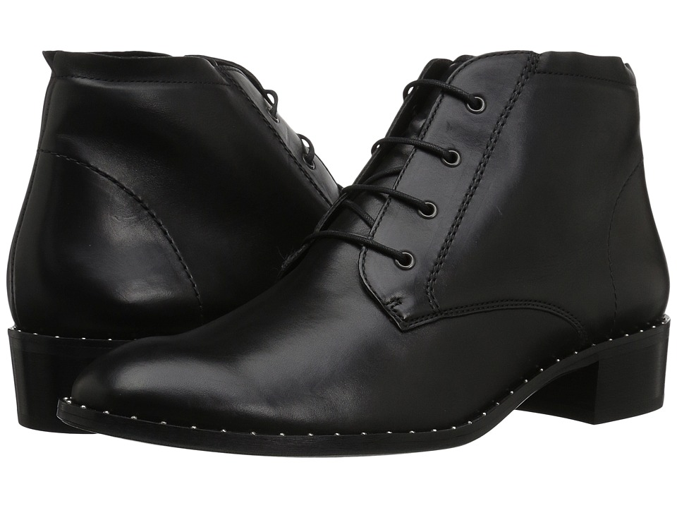 Paul Green Otto Lace (Black Leather) Women