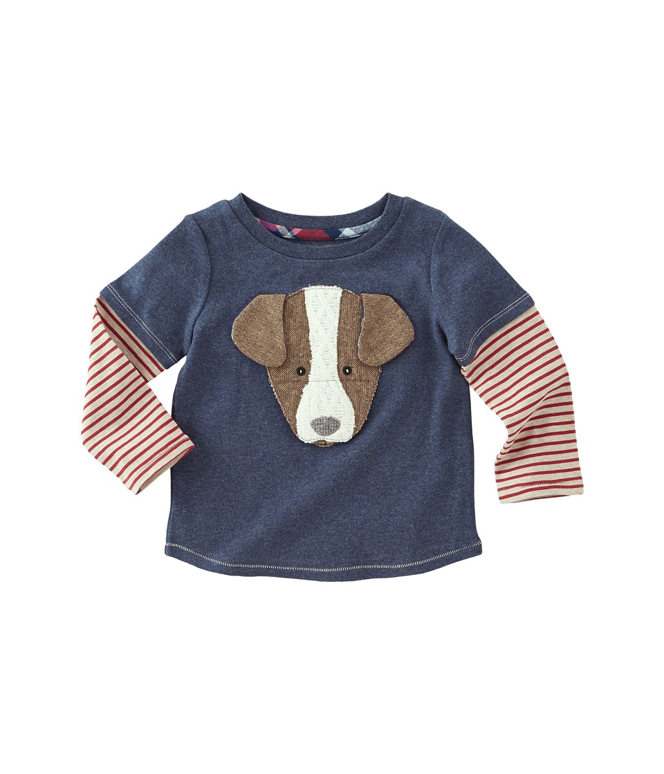 Mud Pie - Puppy Long Sleeve Shirt (Infant/Toddler) (Brown...