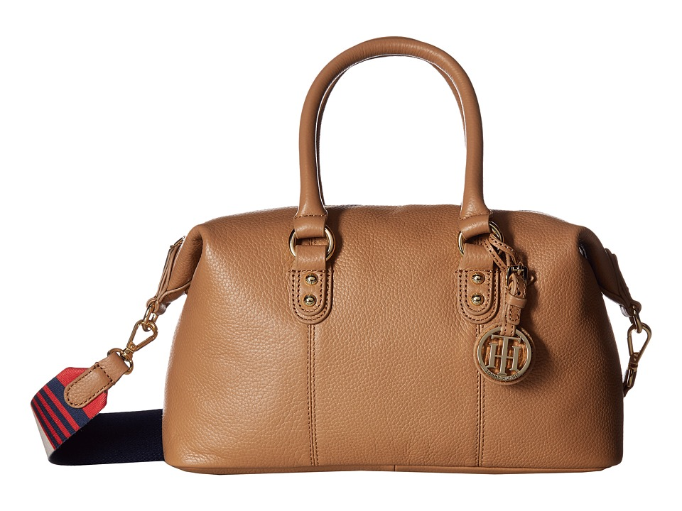 Tommy Hilfiger Tommy Hilfiger - Addy Pebble Leather Satchel