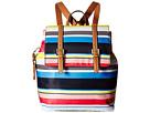 Tommy Hilfiger - Julia Stripe Flap Backpack