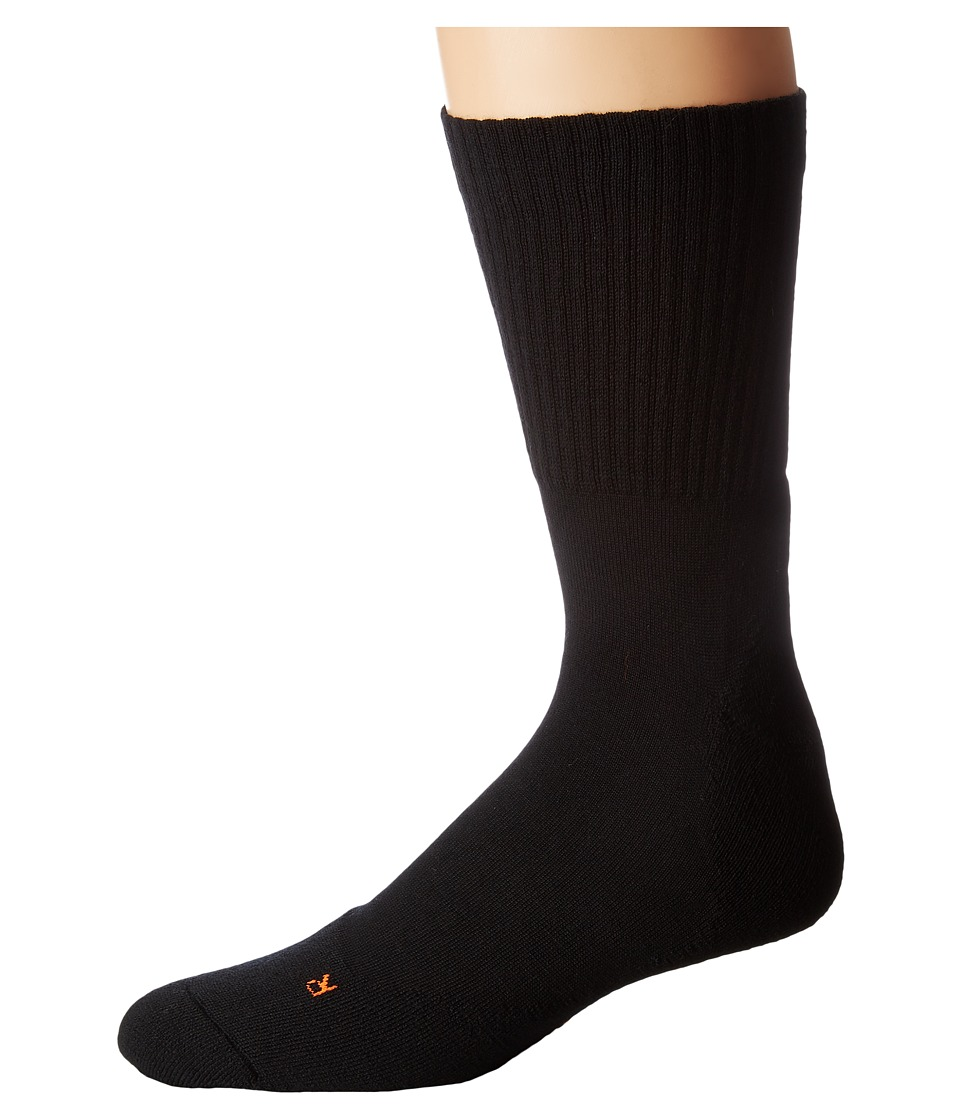 Falke - Walkie Light Socks (Black) Mens No Show Socks Shoes