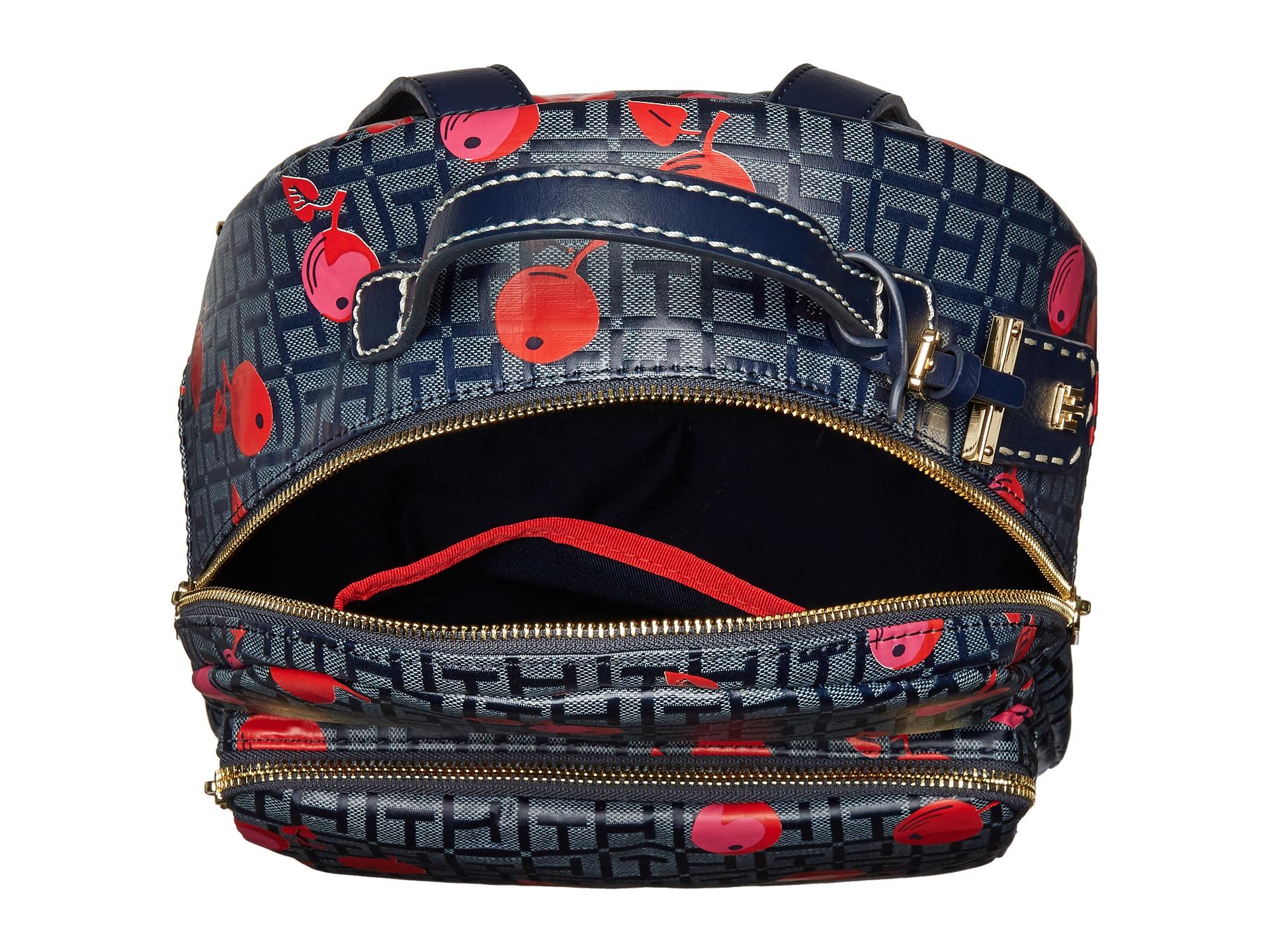 tommy hilfiger julia cherry backpack at. Black Bedroom Furniture Sets. Home Design Ideas