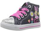 Josmo Kids Minnie Sparkle Toe Hi Top (Toddler/Little Kid)